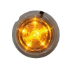 Sidomarking Viking orange 6 LED klar lins