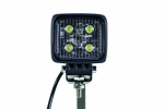 Arbetslampa Mini LED 12W 9-30V DC, IP67, EMC ECE R10 Strands