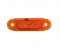 Sidomarkering SLD Orange LED, 79x26mm 5m kabel