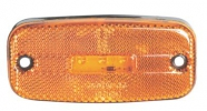 Sidomarkering SLD Orange 5LED 12-24V E-märkt