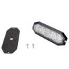 Duoblixtljus Strands 12 LED, 12-24V DC, 20W Orange+Vita LED