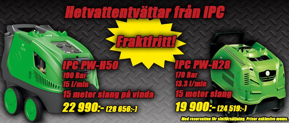 IPC Hetvattentvättar