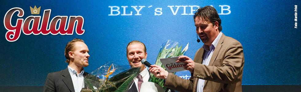 Blys VIP - årets tillväxtbolag Lidköping 2015!