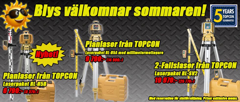 Topcon Laserpaket